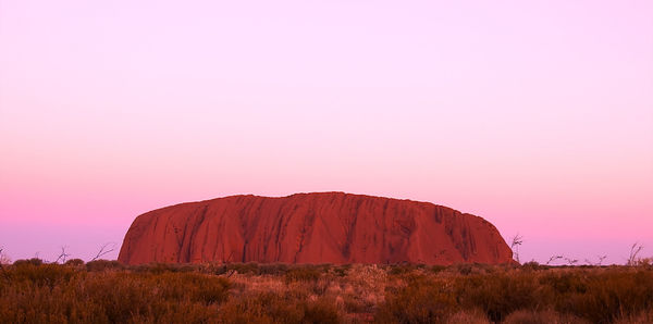Northern Territory Ayers Rock Sunset